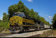RailPictures.Net Photo: NS 8100 Norfolk Southern GE ES44AC at Belews Creek, North Carolina by Trey Belton