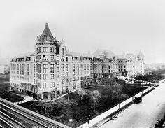 1913 Museo Americano de Historia Natural.  Evolución de la ciudad de Nueva York, 1912 - 1913 .