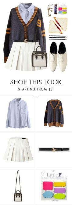 """*1294"" by cutekawaiiandgoodlooking ❤ liked on Polyvore featuring Alexander Wang, Gucci, Alexander McQueen and Crate and Barrel"