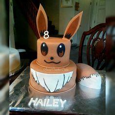 Weekend Cakes Eevee Cake #pokemon #eeveecake #eevee #fondantcakes #birthdaycakes #irmas_creative_cakes_