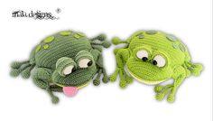 frogs a crochet pattern by mala designs ®