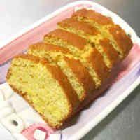 HMで作る☆簡単さつま芋パウンドケーキ