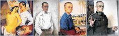 Künstleratelier: Georg Paul Heyduck im Selbstporträt