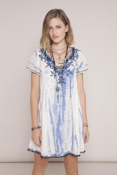 INDIGO GIRL · The Dress | Summer | Fashion | Blues | Vestido Gypsy Ramsay