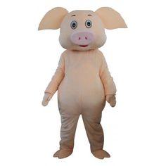 Pig Mascot Costume Pig Halloween Costume, Pig Costumes, Tiger Costume, Mascot Costumes, Halloween Outfits, Adult Costumes, Bloodhound Dogs, Eagle Mascot, Goofy Dog