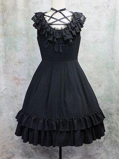 Moi-même-Moitié / Jumper Skirt / Laced Frilled JSK