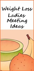 Weight Lose Meeting Ideas