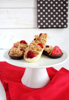 Barrette home made di cioccolato e cereali con frutti rossi - Chocolate bars with whole grains and red fruits