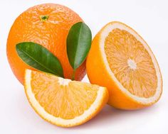 A slice of orange is better than vitamin c serum for the face.