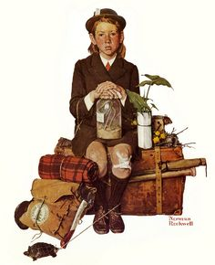 Home From Camp  -     Norman Rockwell