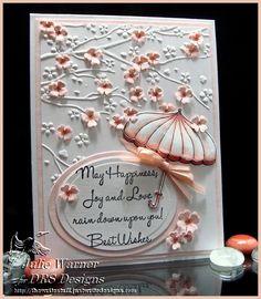 "The Write Stuff | Cherry Blossom Umbrella | http://thewritestuff.justwritedesigns.com...""WHAT"" a talent!!!"