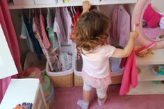Montessori wardrobe tips to build.