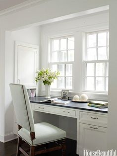 In your back pocket...: Kitchen Desk Areas...