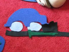 "The parts of a car from Teach Preschool- felt cars- cute! {based on book "" my car"""