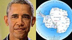 Terra oca: Obama visitou secretamente a Antártida em Março e recebeu uma misteriosa benção do Patriarca Russo ~ Sempre Questione