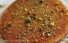 Kanafeh from Haj Kahil  http://www.chowzter.com/fast-feasts/Mid-East/Tel%20Aviv/review/Haj-Kahil/Kanafeh/6193_6279