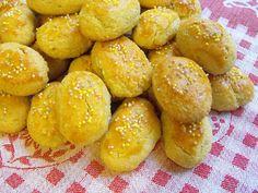 As receitas lá de casa: Broinhas de batata-doce (Bimby/Thermomix)