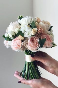 The bridal bouquet is one of the most important accessories on your wedding day. In this article you will find five factors to consider when making a choice of your bouquet on your wedding day. Source Source by Bridal Flowers, Flower Bouquet Wedding, Floral Wedding, Bouquet Flowers, Bridal Boquette, Bridal Bouquet Diy, Wedding Flower Arrangements, Wedding Centerpieces, Wedding Decorations