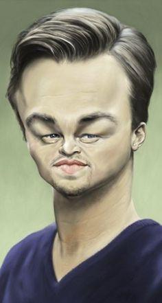 Imagenes de caricaturas graciosas y divertidas DiCaprio