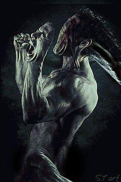 I love Art ,Horror and other nice things. Arte Horror, Horror Art, Gothic Horror, Creepy Art, Scary, Art Zombie, Dark Evil, Evil Art, Dark Artwork