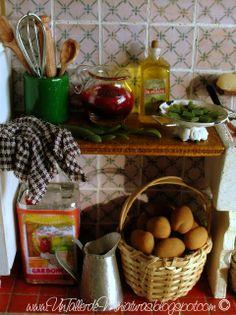 Kitchen Roombox frm http://untallerdeminiaturas.blogspot.com
