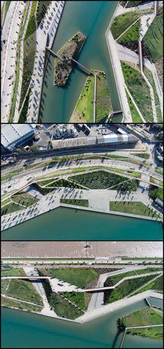 2016 Región Metropolitana, Chile / Padre Renato Poblete River Park / Boza Arquitectos
