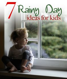 7 Rainy Day Activities for Kids by Leah Blomberg on FamilyCorner.com Magazine