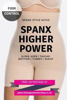 78dabe29b8 Spanx Higher Power High Waisted Shaper Shorts - SPX 2745