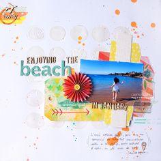 Cromatismes   Beach, by Àurea Estellé