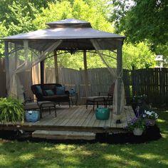 Portable Deck Outside Living Room Diy Backyard In 2019