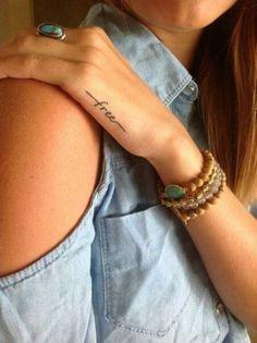 piccoli tatuaggi scritte - Cerca con Google
