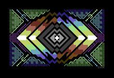"Delysid Petscii ""Flux"" [2013] by Shine"