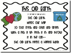 """This Old Earth"" free poem download."