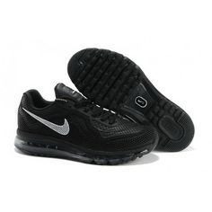 low priced 56a37 4148a Mens Nike Air Max 2014 Black White Shoes Cheap Nike Running Shoes, Buy Nike  Shoes