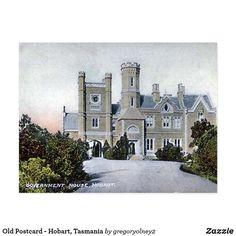 Old Postcard - Hobart, Tasmania