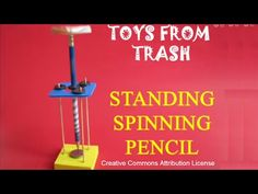 STANDING SPINNING PENCIL -  ENGLISH - 30MB - YouTube