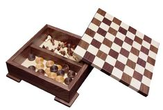 This Amish Wooden Checker Board Game with Base is proudly made in the USA!