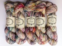 Yarn by JunoFibreArts on etsy...too bad- this shop closed