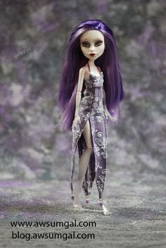 Myst ooak Spectra Monster High doll by awsumgal by awsumgal-Lux on deviantART