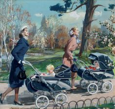 John Gannam (1907-1965) — Biggest Baby News In Years (1030x981)