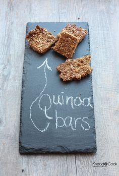 Quinoa Granola Bars.