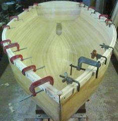 технология изготовления деревянной лодки _43