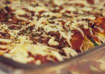 Ground Turkey Spaghetti Squash Lasagna (The Zone Diet Recipe) | Diet Plan 101