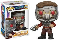 Guardians of the Galaxy Vol. 2 Funko POP! Marvel Star-Lord Exclusive Vinyl Bobble Head #209 [One Blaster, Armor]