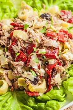 Flavorful and filling, this Mediterranean tuna salad is sure to please. Made with high quality flavorful ingredients, it will become your new go to lunch. Healthy Tuna Salad, Healthy Fats, Healthy Eating, Nutritious Meals, Healthy Meals For Kids, Healthy Snacks, Healthy Rice, Good Healthy Recipes, Delicious Recipes