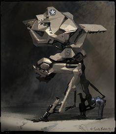 Scott Robertson Mech Concept Art