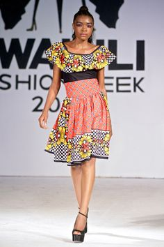 SUBIRA WAHURE, Tanzanian designer : Swahili Fashion week
