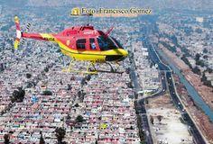 Nezahualcóyotl Méx. 25 Enero 2013. El próximo 24 de de febrero vuelve el helicóptero Coyote I, aeronave de la Dirección de Seguridad Pública Municipal que desde febrero del 2004, y hasta agosto del 2009 inhibió eficazmente a la delincuencia durante cinco años y medio.   Foto. Francisco Gómez