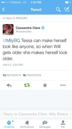 This just shows a lot about Tessa's heart. Why, Cassie, must you make us love these characters so much?!