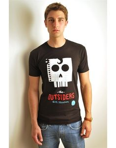 The Outsiders T-Shirt #book #shirts @SJMusgraves